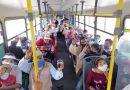 Habitantes de San Lorenzo estrenan linea de Trasporte